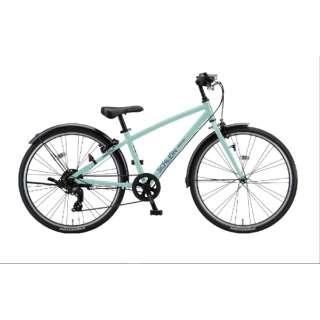 24型 子供用自転車 シュライン(E.Xミストグリーン/外装7段変速) SHL41【2021年モデル】 【組立商品につき返品不可】