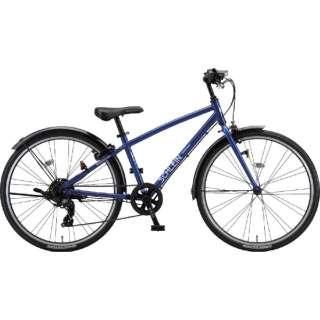 26型 子供用自転車 シュライン(F.Xグリッターブルー/外装7段変速) SHL61【2021年モデル】 【組立商品につき返品不可】