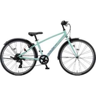 26型 子供用自転車 シュライン(E.Xミストグリーン/外装7段変速) SHL61【2021年モデル】 【組立商品につき返品不可】