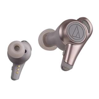 フルワイヤレスイヤホン ベージュゴールド ATH-CKR70TW BG [マイク対応 /ワイヤレス(左右分離) /Bluetooth]