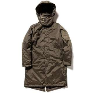 男女兼用 オーロラステンカラーダウンコート AURORA SOUTIEN COLLAR DOWN COAT(Lサイズ/カーキ) N1ASKHG0