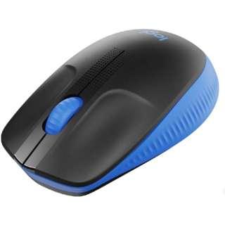 M190BL マウス ブルー [光学式 /4ボタン /USB /無線(ワイヤレス)]