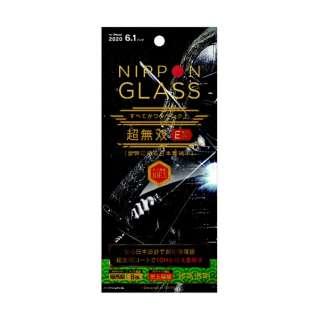 iPhone 12/12 Pro 6.1インチ対応 [NIPPON GLASS] 超無双EX 8倍強化 光沢 TY-IP20M-GL-DDXCC