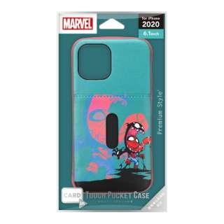 iPhone 12/12 Pro 6.1インチ対応タフポケットケース スパイダーマン&ヴェノム Premium Style スパイダーマン&ヴェノム PG-DPT20G21SPM
