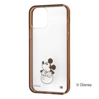 iPhone 12/12 Pro 6.1インチ対応 ディズニー/ハイブリッド ミッキー RT-DP27UC/MKM