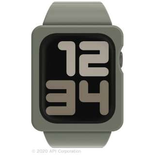EYLE TILE Apple Watch Band Case 44mm KHAKI for Series 6/5/4/SE XEA03-TL-KH