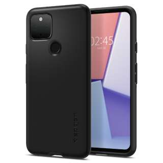 Pixel 5 Case Thin Fit Black SGP ACS01894