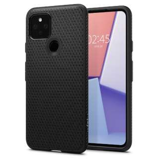 Pixel 5 Case Liquid Air Matte Black SGP ACS01896