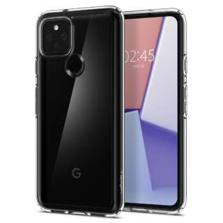 Pixel 5 Case Ultra Hybrid Crystal Clear SGP ACS01897
