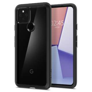 Pixel 5 Case Ultra Hybrid Matte Black SGP ACS01898