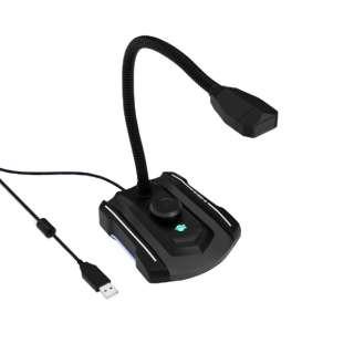 SD-U2MIC-GA ゲーミングPCマイク ブラック [USB]