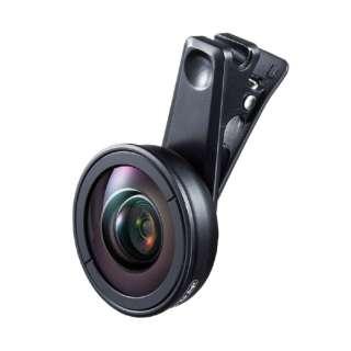 ノートPCカメラ用広角レンズ CMS-LENS1BK