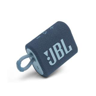 ブルートゥース スピーカー ブルー JBLGO3BLU [Bluetooth対応 /防水]