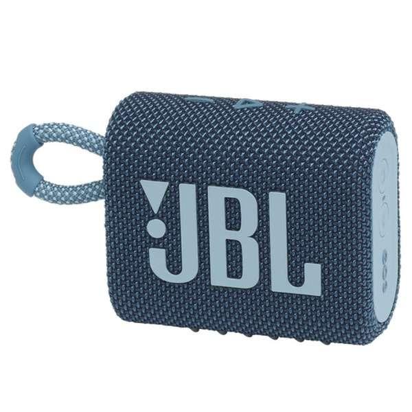 ブルートゥース スピーカー ブルー JBLGO3BLU [防水 /Bluetooth対応]