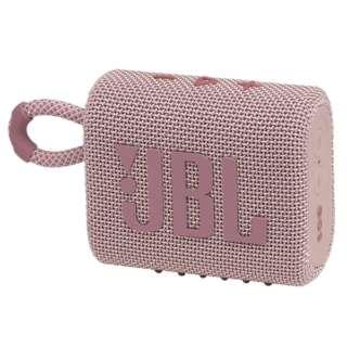 ブルートゥース スピーカー ピンク JBLGO3PINK [Bluetooth対応 /防水]