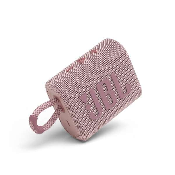ブルートゥース スピーカー ピンク JBLGO3PINK [防水 /Bluetooth対応]