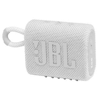 ブルートゥース スピーカー ホワイト JBLGO3WHT [Bluetooth対応 /防水]
