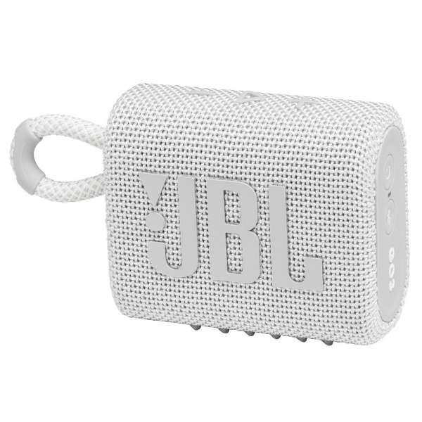 ブルートゥース スピーカー ホワイト JBLGO3WHT [防水 /Bluetooth対応]