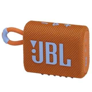 ブルートゥース スピーカー オレンジ JBLGO3ORG [防水 /Bluetooth対応]