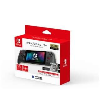 グリップコントローラー for Nintendo Switch クリアブラック NSW-298 【Switch】