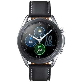 SM-R840NZSAXJP サムスン ウェアラブル端末 Galaxy Watch3 45mm ステンレス シルバー