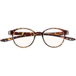 老眼鏡 カカル 4940(デミブラウン/+2.50)