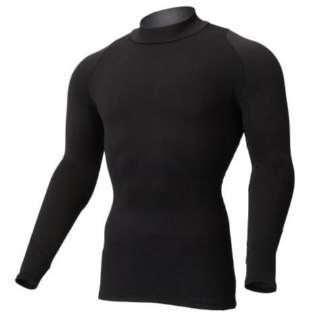メンズ ゴルフウエア インナーシャツ バイオギア ブレスサーモデラックスウォーム ストレッチハイネック長袖(Mサイズ/ブラック)52MJ0501 09