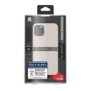 iPhone 12 mini 5.4インチ対応 Air jacket Clear POWER SUPPORT(パワーサポート) クリア PPBY-71