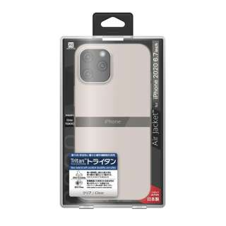 iPhone 12 Pro Max 6.7インチ対応ケース Air jacket Clear POWER SUPPORT(パワーサポート) クリア PPBC-71