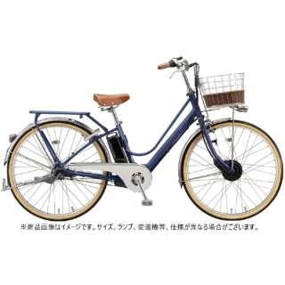 26型 電動アシスト自転車 カジュナe ベーシックライン(E.Xアメリカンブルー/内装3段変速) CB6B41【2021年モデル】 【組立商品につき返品不可】