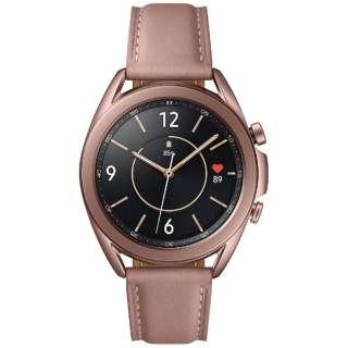SM-R850NZDAXJP サムスン ウェアラブル端末 Galaxy Watch3 41mm ステンレス ブロンズ