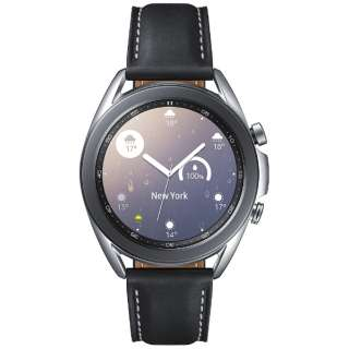 SM-R850NZSAXJP サムスン ウェアラブル端末 Galaxy Watch3 41mm ステンレス シルバー