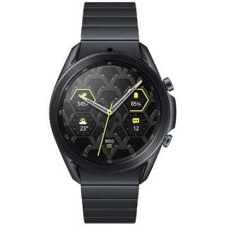 SM-R840NTKAXJP サムスン ウェアラブル端末 Galaxy Watch3 45mm チタン ブラック