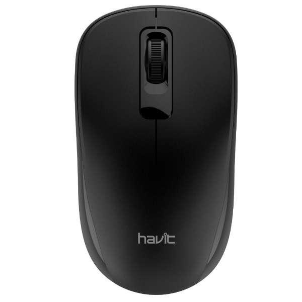 MS626 マウス GAMENOTE ブラック [3ボタン /USB /無線(ワイヤレス)]