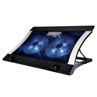 ノートパソコン対応[~14インチ] 冷却スタンド GAMENOTE ブラック F2051