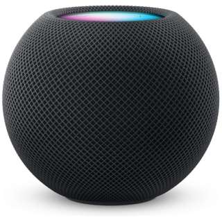 スマートスピーカー HomePod mini スペースグレイ MY5G2J/A [Bluetooth対応 /Wi-Fi対応]