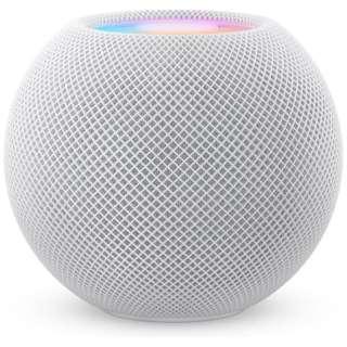 スマートスピーカー HomePod mini ホワイト MY5H2J/A [Bluetooth対応 /Wi-Fi対応]