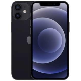 【SIMフリー】iPhone 12 mini A14 Bionic 5.4型 ストレージ:128GB デュアルSIM(nano-SIMとeSIM) MGDJ3J/A ブラック
