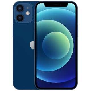 【SIMフリー】iPhone 12 mini A14 Bionic 5.4型 ストレージ:128GB デュアルSIM(nano-SIMとeSIM) MGDP3J/A ブルー