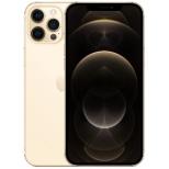 【SIMフリー】iPhone 12 Pro Max A14 Bionic 6.7型 ストレージ:128GB デュアルSIM(nano-SIMとeSIM) MGCW3J/A ゴールド