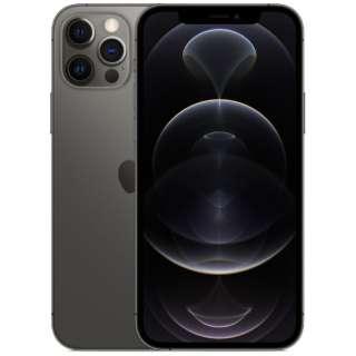 【SIMフリー】iPhone 12 Pro A14 Bionic 6.1型 ストレージ:128GB デュアルSIM(nano-SIMとeSIM) MGM53J/A グラファイト
