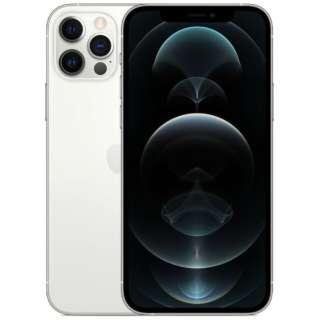 【SIMフリー】iPhone 12 Pro A14 Bionic 6.1型 ストレージ:128GB デュアルSIM(nano-SIMとeSIM) MGM63J/A シルバー