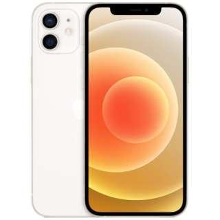 【SIMフリー】iPhone 12 A14 Bionic 6.1型 ストレージ:64GB デュアルSIM(nano-SIMとeSIM) MGHP3J/A ホワイト