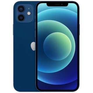 【SIMフリー】iPhone 12 A14 Bionic 6.1型 ストレージ:64GB デュアルSIM(nano-SIMとeSIM) MGHR3J/A ブルー