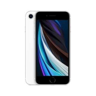 【SIMフリー】iPhone SE A13 Bionic 4.7型ストレージ:64GB デュアルSIM(nano-SIMとeSIM)MHGQ3J/A ホワイト (AC・イヤホン同梱無)