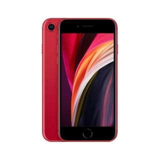 【SIMフリー】iPhone SE A13 Bionic 4.7型ストレージ:64GBデュアルSIM(nano-SIMとeSIM)MHGR3J/A プロダクトレッド(AC・イヤホン同梱無)