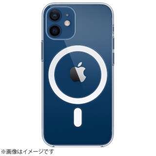 【純正】MagSafe対応iPhone 12 miniクリアケース MHLL3FE/A