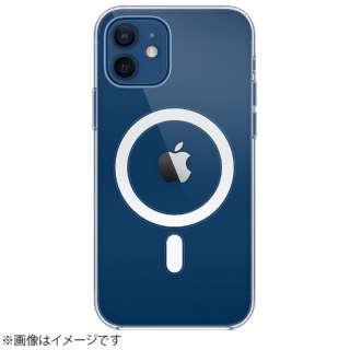【純正】MagSafe対応iPhone 12 & iPhone 12 Proクリアケース MHLM3FE/A