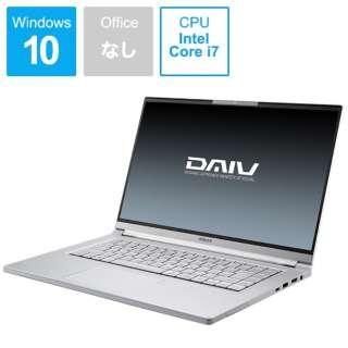 ノートパソコン DAIV BC-DAM16S5IDG165-203 [15.6型 /intel Core i7 /SSD:512GB /メモリ:16GB]