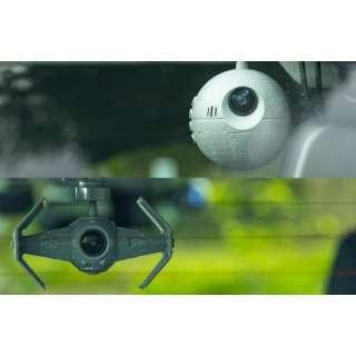 前後2カメラドライブレコーダー スター・ウォーズモデル SW-MS01 [Full HD(200万画素) /前後カメラ対応]